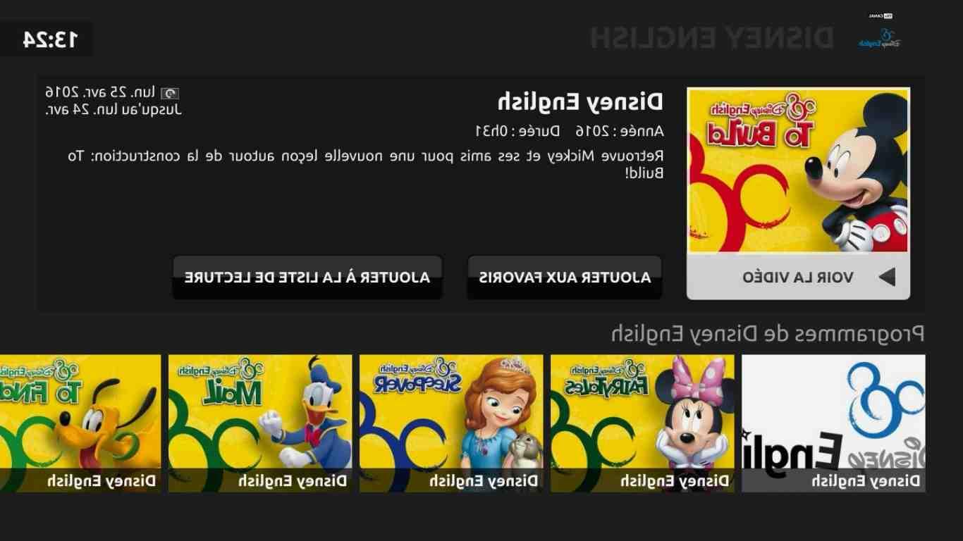 Comment mettre Disney plus sur Freebox Delta ?