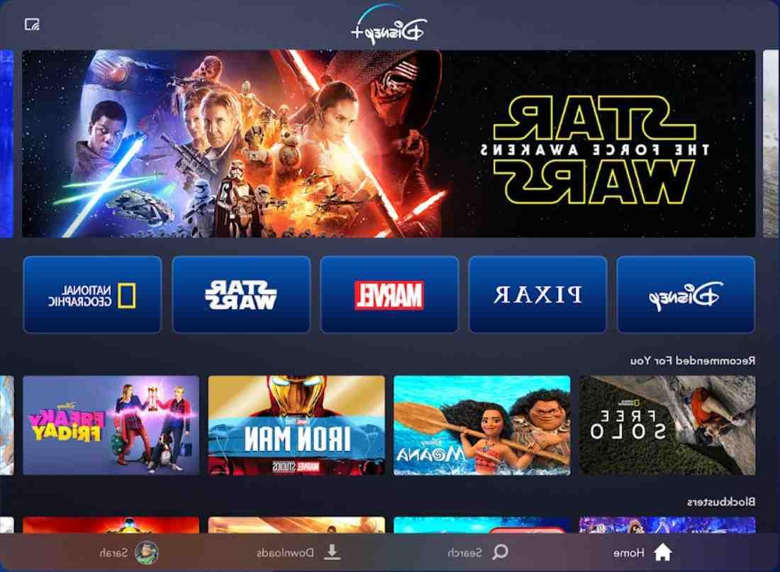Comment mettre l'application Disney plus sur ma télé ?