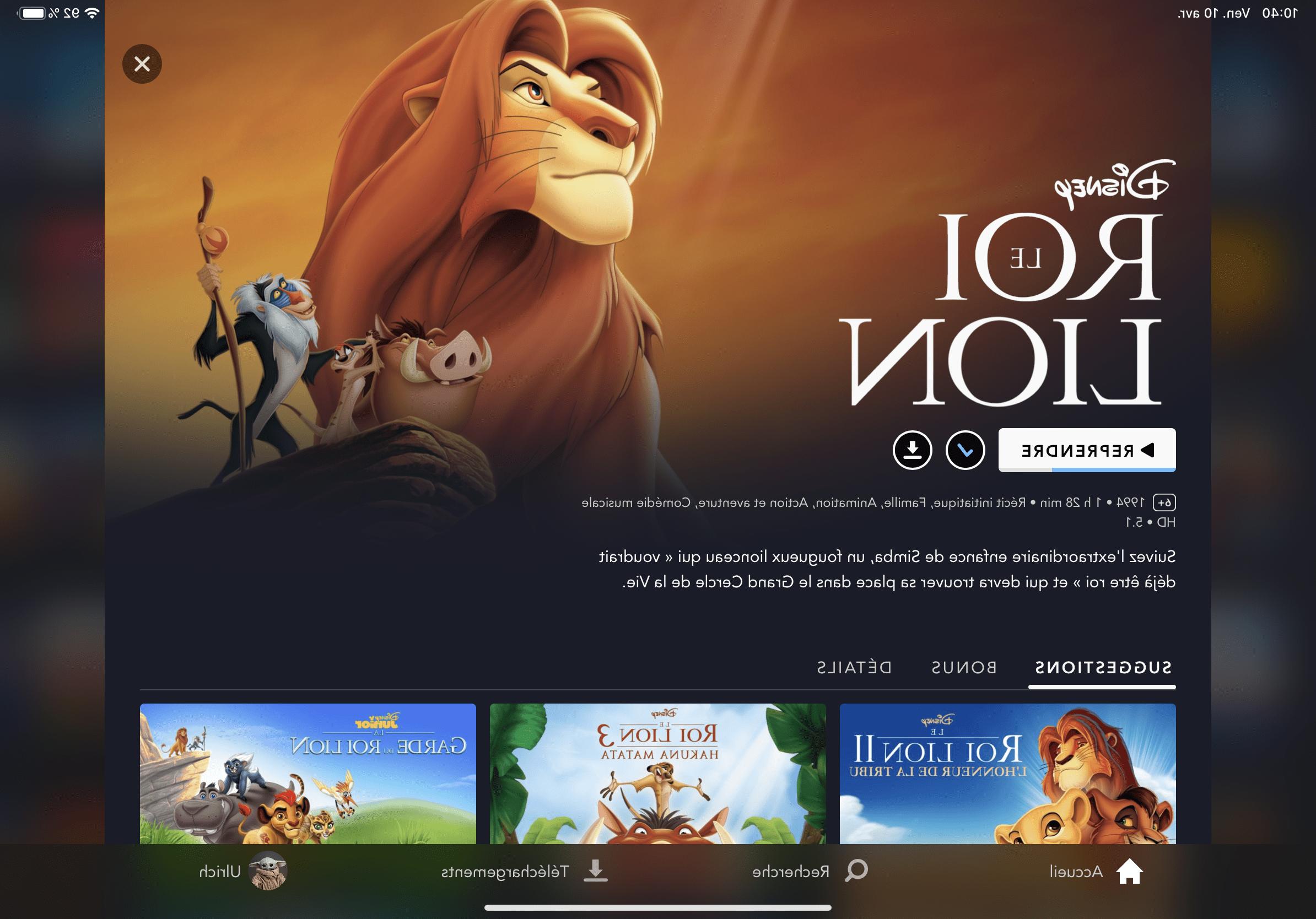 Comment regarder Disney+ sur la télé ?