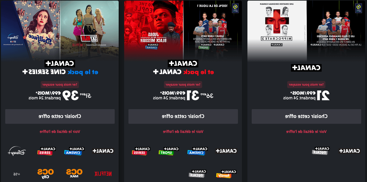 Quelle offre Canal+ choisir ?